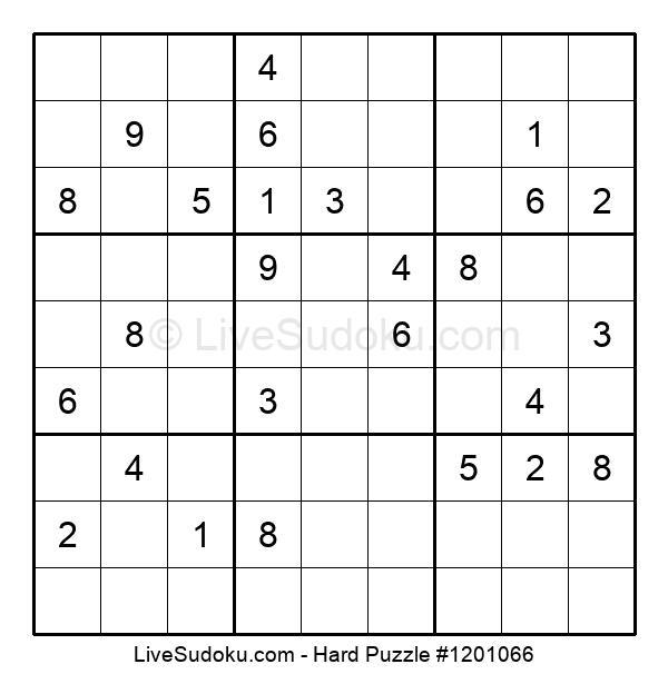 Hard Puzzle #1201066