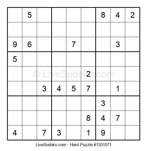 Hard Puzzle #1201071