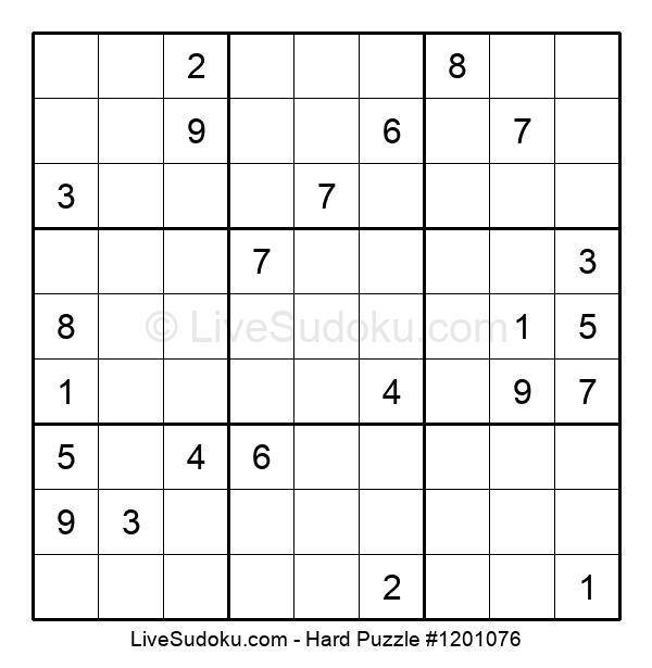 Hard Puzzle #1201076