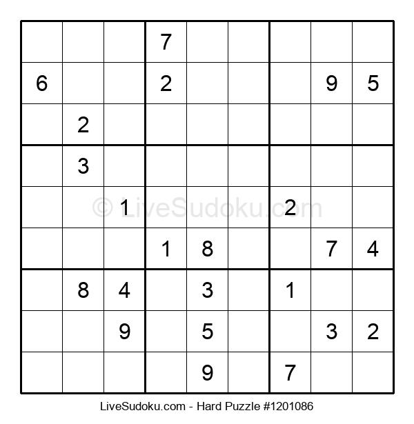 Hard Puzzle #1201086