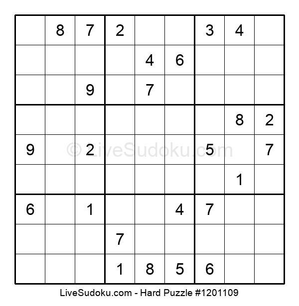 Hard Puzzle #1201109