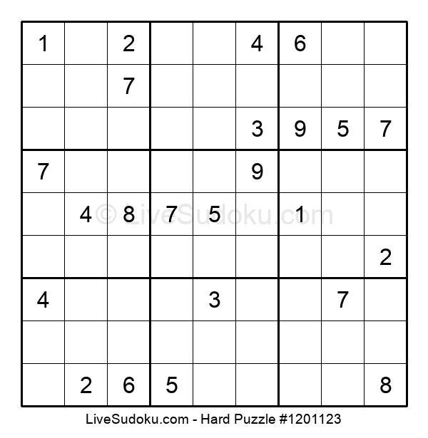 Hard Puzzle #1201123