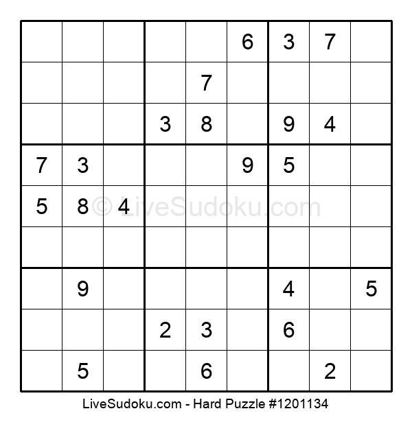 Hard Puzzle #1201134