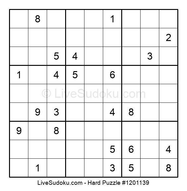 Hard Puzzle #1201139