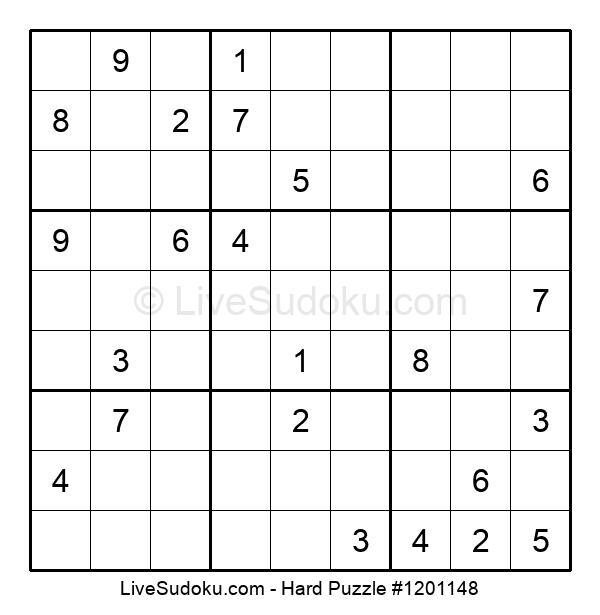 Hard Puzzle #1201148