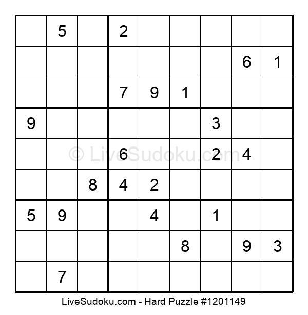 Hard Puzzle #1201149
