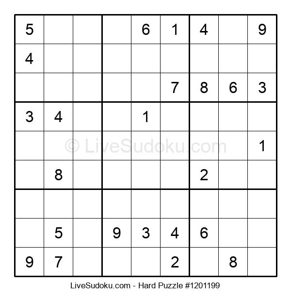 Hard Puzzle #1201199