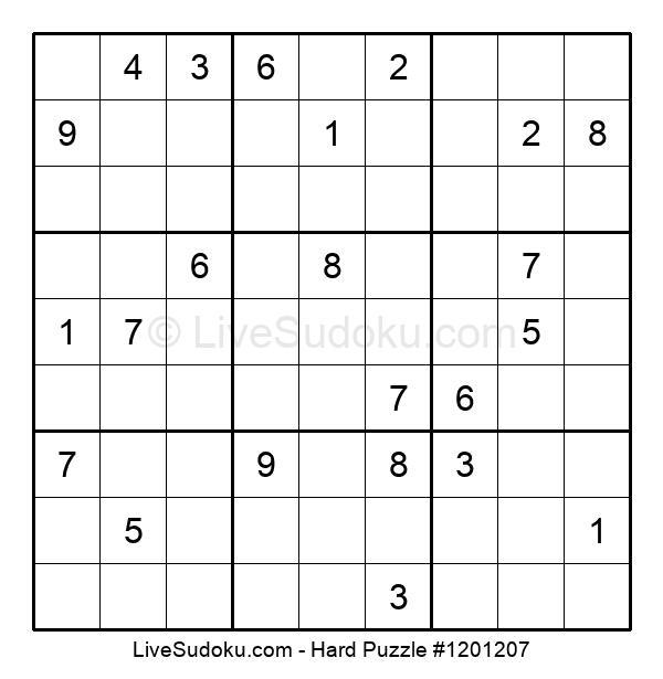 Hard Puzzle #1201207