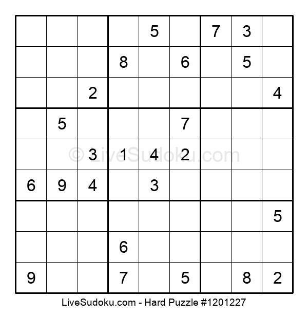 Hard Puzzle #1201227