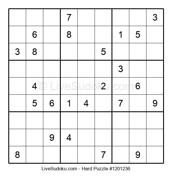 Hard Puzzle #1201236