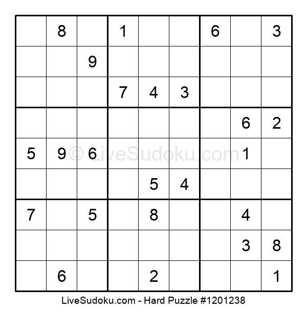 Hard Puzzle #1201238