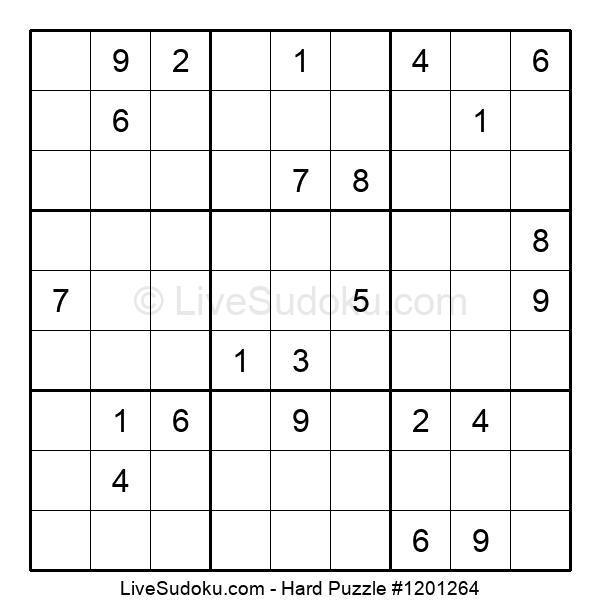 Hard Puzzle #1201264