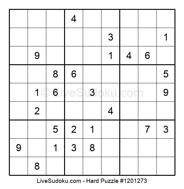 Hard Puzzle #1201273