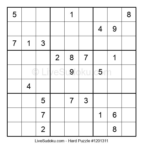 Hard Puzzle #1201311