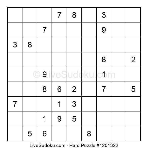 Hard Puzzle #1201322