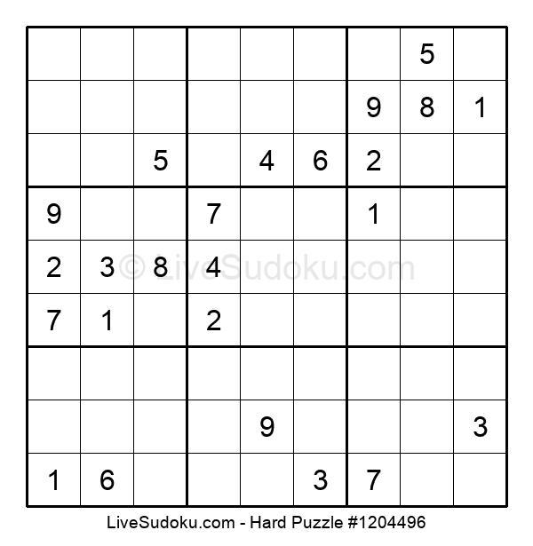 Hard Puzzle #1204496