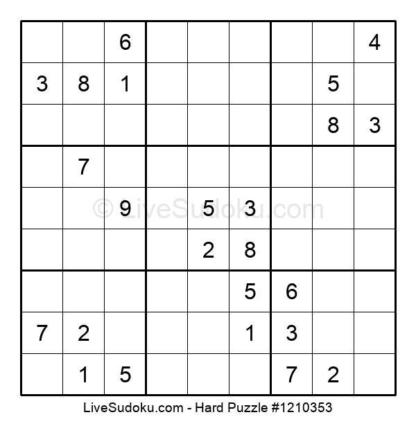 Hard Puzzle #1210353