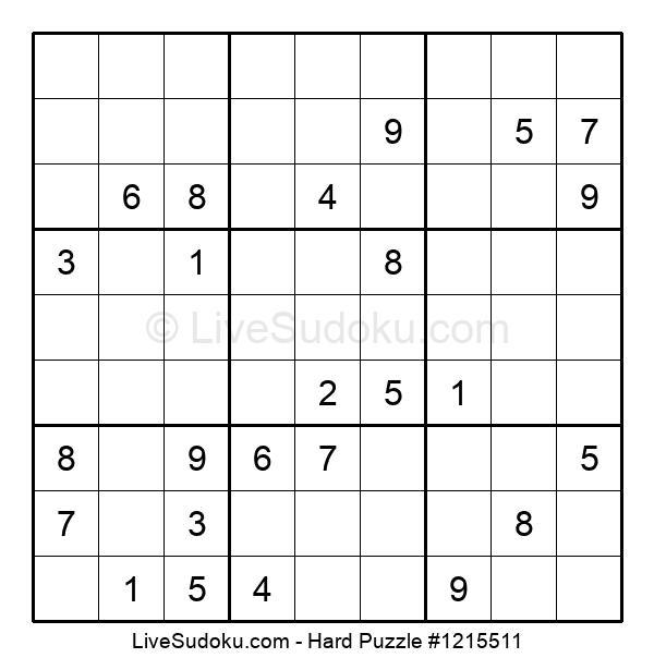 Hard Puzzle #1215511