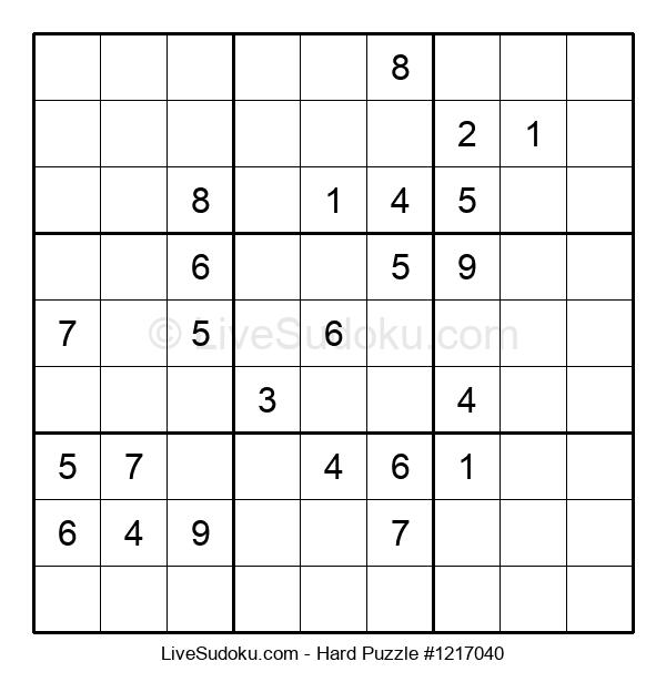Hard Puzzle #1217040