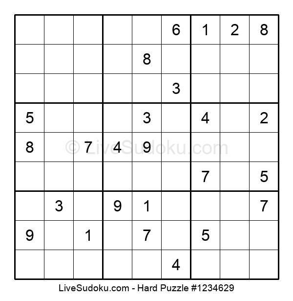 Hard Puzzle #1234629