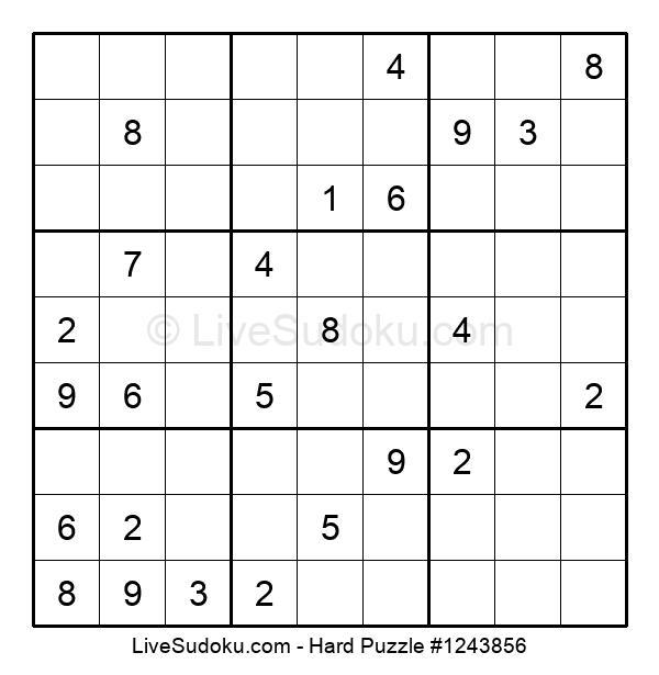 Hard Puzzle #1243856