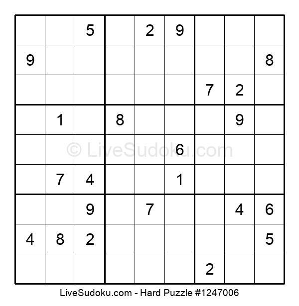 Hard Puzzle #1247006
