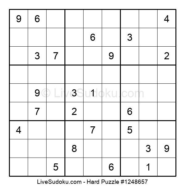 Hard Puzzle #1248657