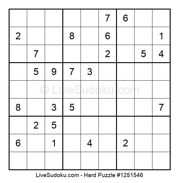 Hard Puzzle #1251546