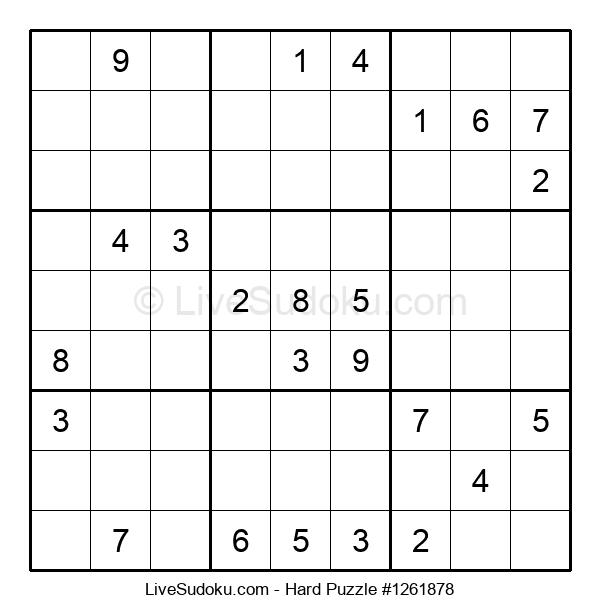 Hard Puzzle #1261878
