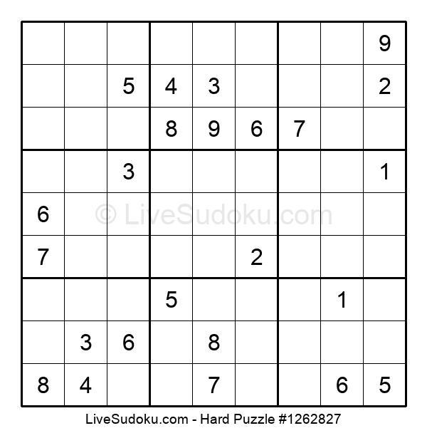 Hard Puzzle #1262827