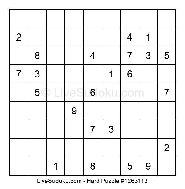 Hard Puzzle #1263113