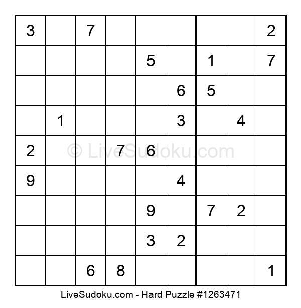 Hard Puzzle #1263471