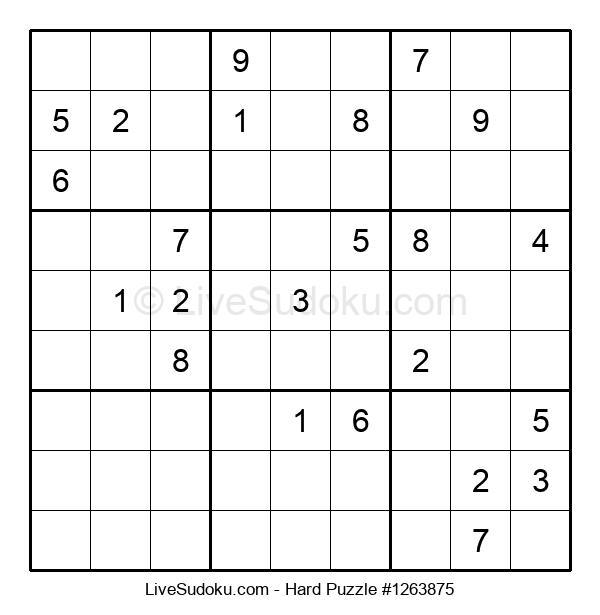 Hard Puzzle #1263875