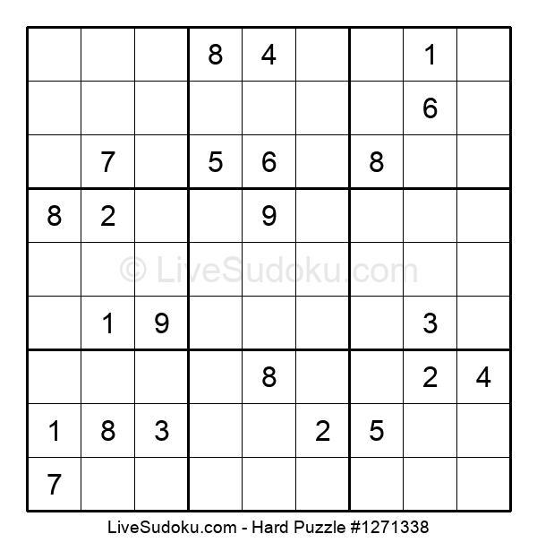 Hard Puzzle #1271338