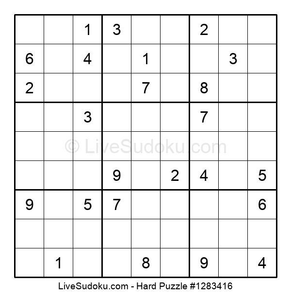 Hard Puzzle #1283416