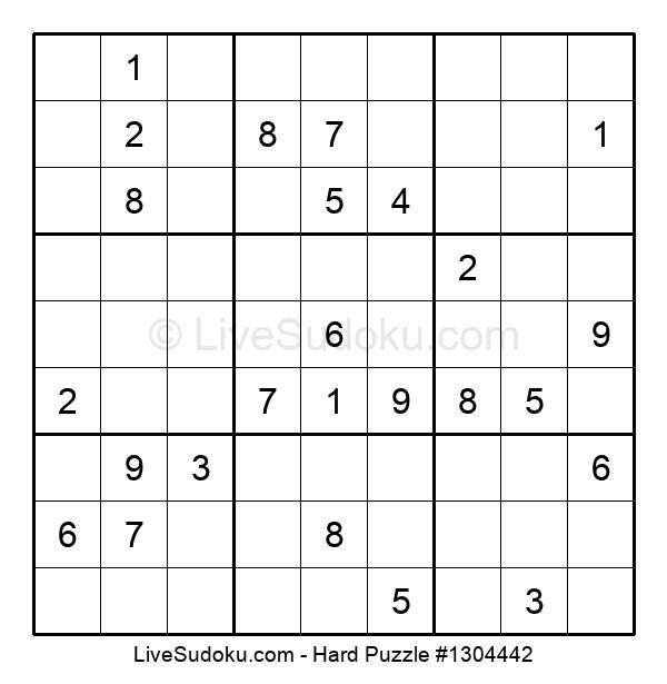 Hard Puzzle #1304442