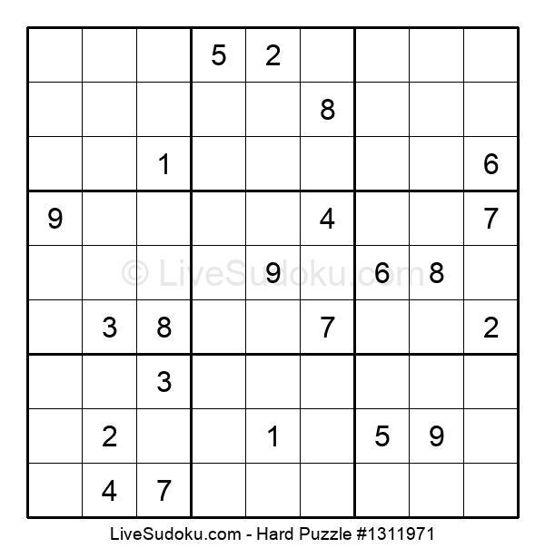 Hard Puzzle #1311971