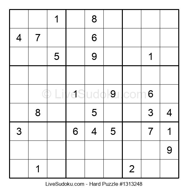 Hard Puzzle #1313248