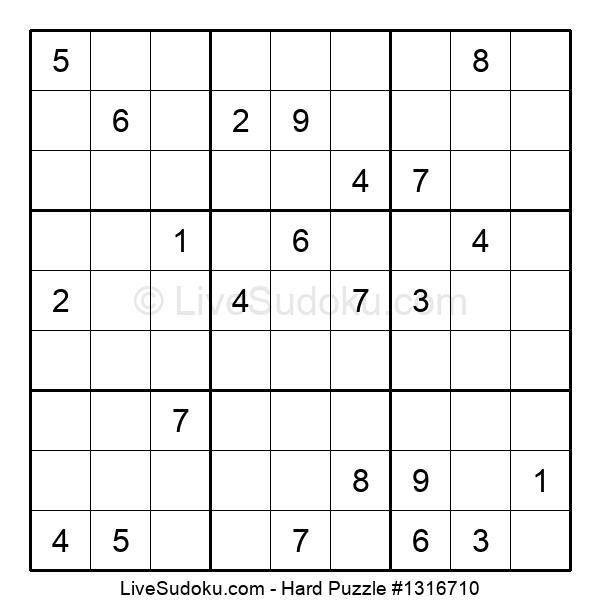 Hard Puzzle #1316710