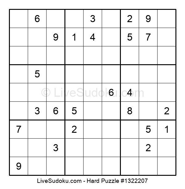 Hard Puzzle #1322207