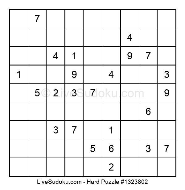 Hard Puzzle #1323802