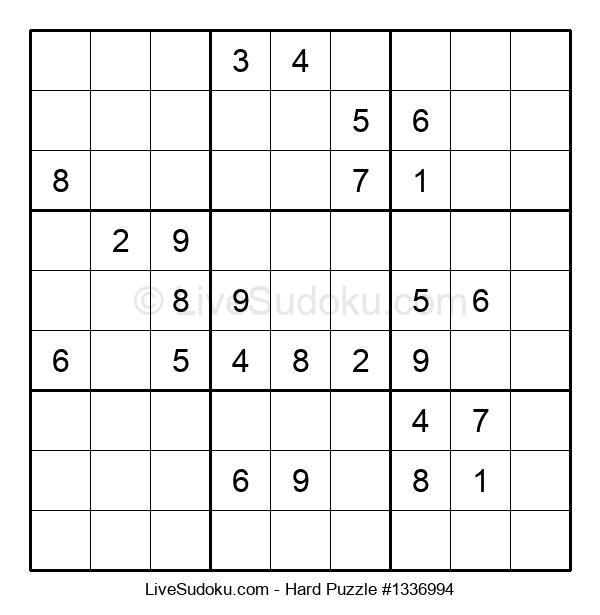 Hard Puzzle #1336994