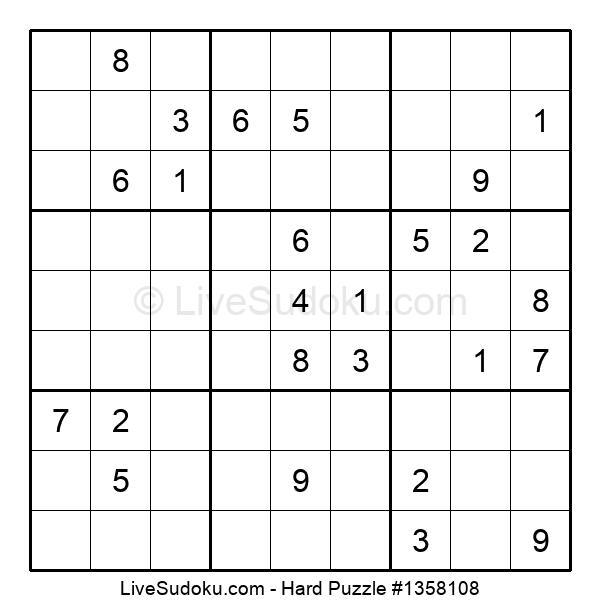 Hard Puzzle #1358108