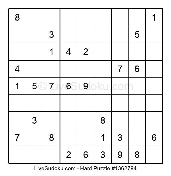 Hard Puzzle #1362784
