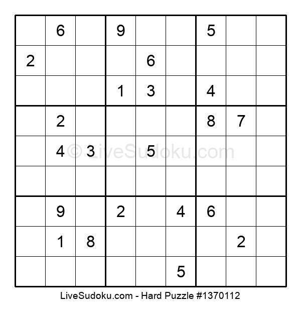 Hard Puzzle #1370112