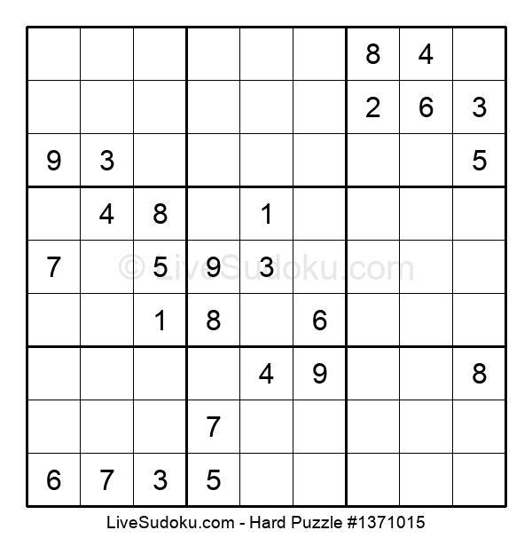 Hard Puzzle #1371015