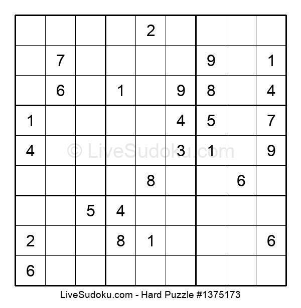Hard Puzzle #1375173