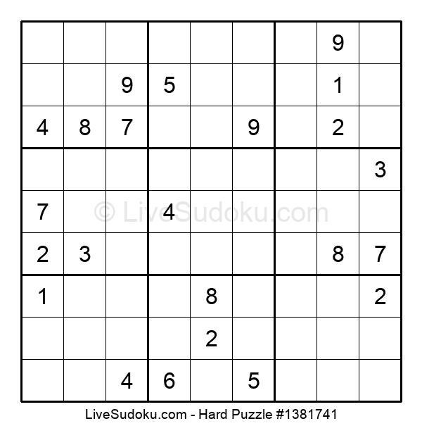 Hard Puzzle #1381741