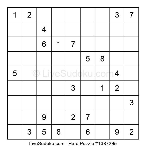 Hard Puzzle #1387295