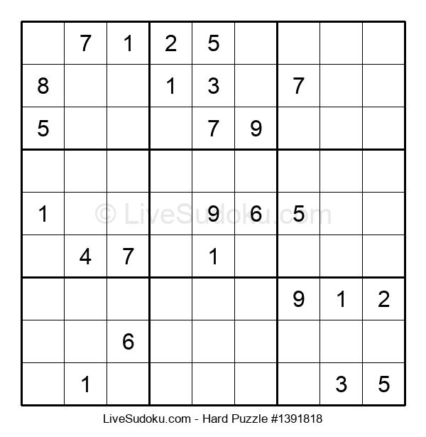 Hard Puzzle #1391818